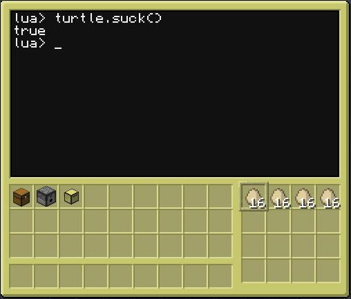 CC turtle.suck() 12