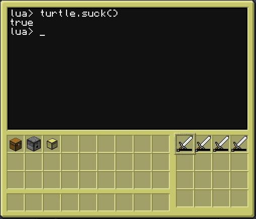 CC turtle.suck() 6