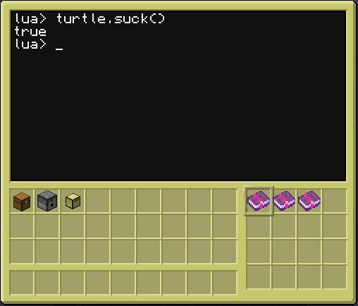 CC turtle.suck() 8